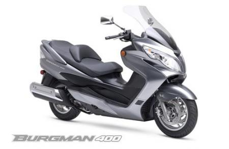 2007 Suzuki Burgman 400