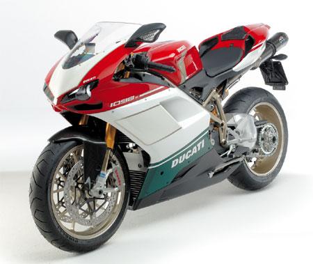 2007 Superbike 1098 S Tricolore