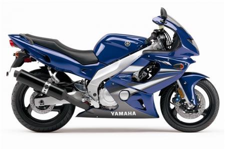 2007 Yamaha YZF 600 R